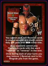 Raw Deal WWE V16.0 Evolution Superstar Card