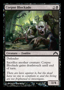 corpseblockade