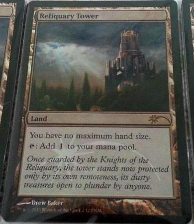 fnm reliquary tower