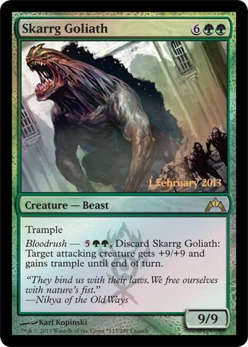 skaarg goliath