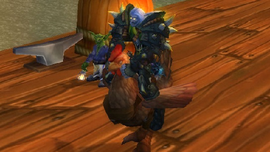 El Pollo Grande BONUS LOOT! World of Warcraft TCG Naxxramas Treasure pack