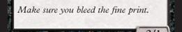 bleed the fine print