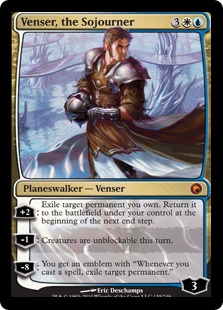 venser the sojourner