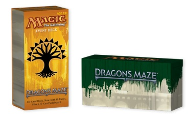dragon's maze event deck
