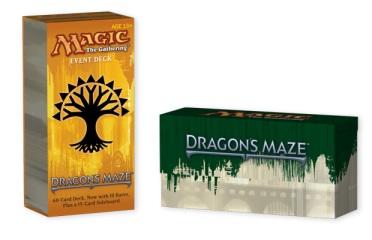 dragon's maze event deck