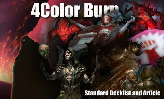 four color burn