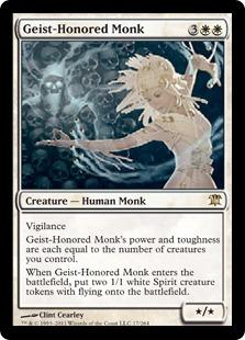 geist honored monk