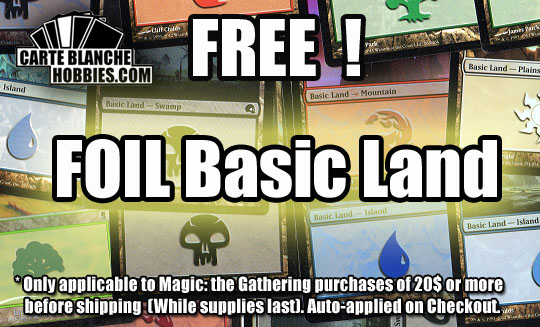 free foil basic land