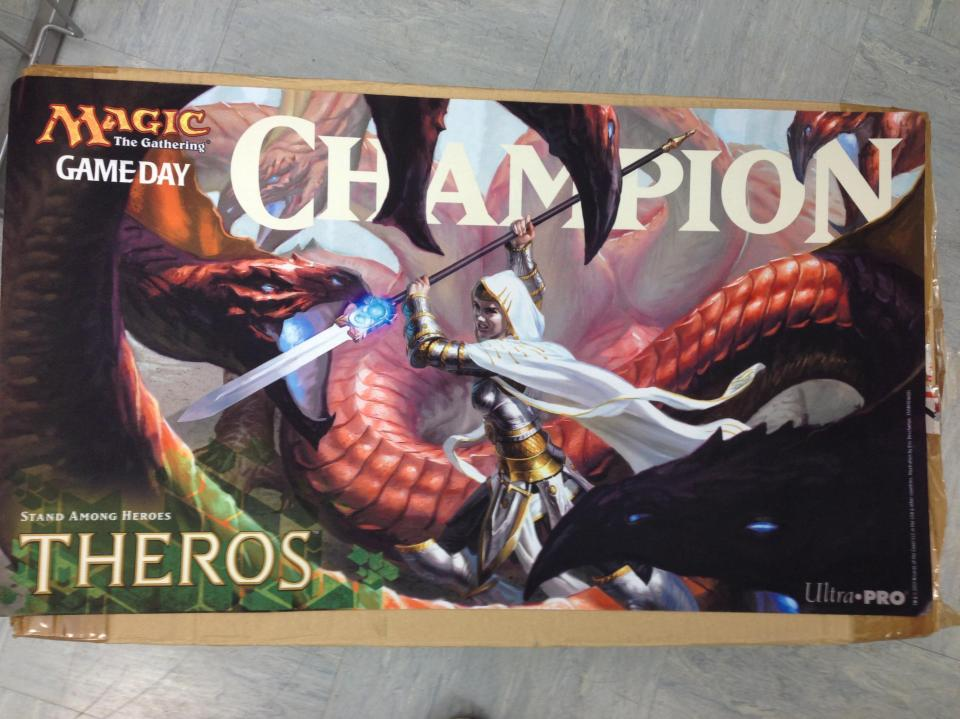 mtg theros playmat