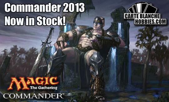 Commander 2013 now in stock