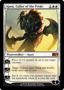 ajani caller of the pride