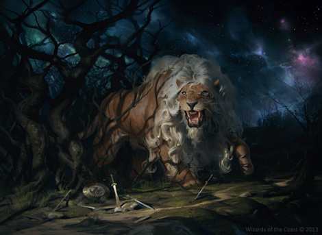 fleecemane lion art