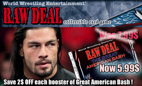 Great American Bash special