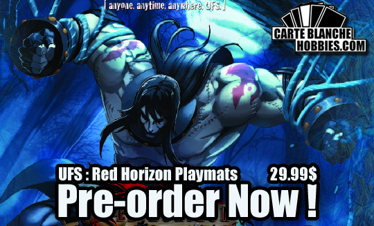 UFS Red Horizon Playmats Preorder