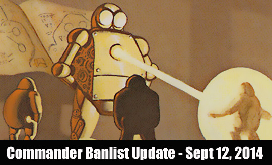 commander banlist sept 12 2014