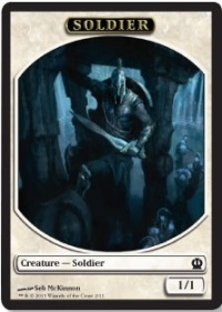 soldier token b theros