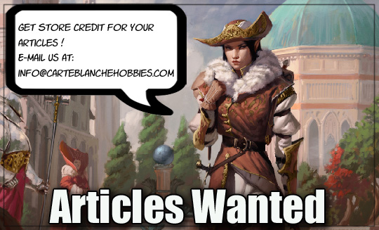 Articles Wanted