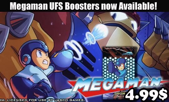 Megaman boosters ufs