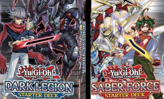 Dark Legion and Saber Force Sarter Deck