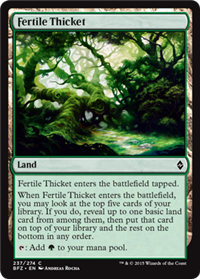 fertiel thicket