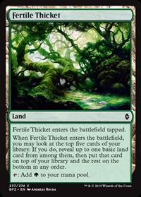 fertiel thicket