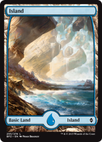 island textless
