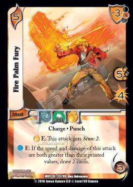 23 Fire Palm Fury