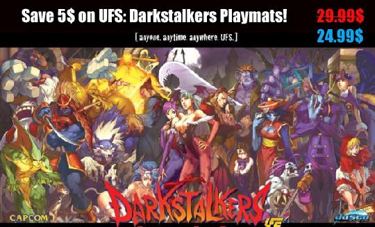 Darkstalkers playmat special