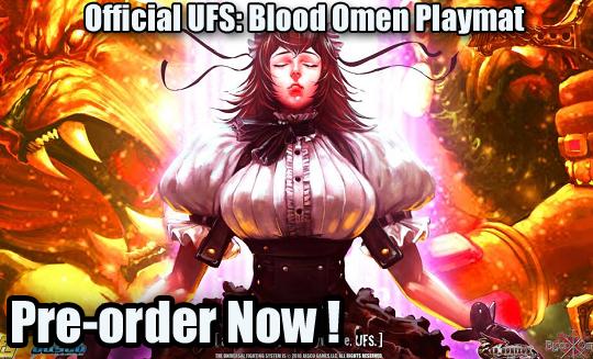 Red: Horizon Blood Omen Playmat