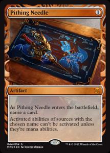 pithing-needle