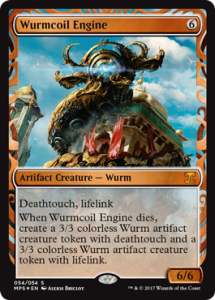 wurmcoil-engine