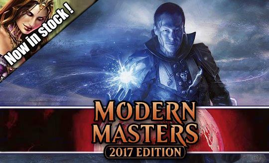 Modern masters 2017 singles in stock