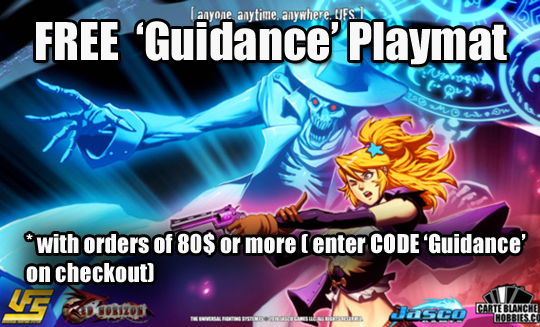 Free Guidance playmat