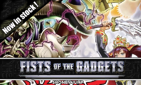 Yugioh Fist of the gadgets