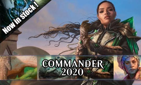 Commander 2020 Singles