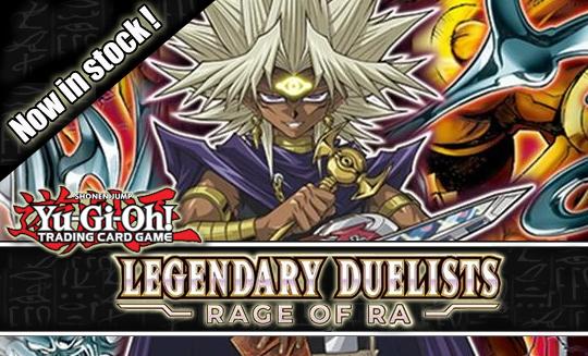 Legendary Duelists Rage of Ra Singles